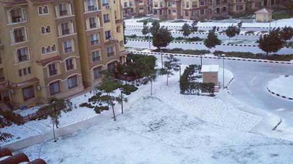 صور سقوط الثلوج في مصر اليوم السبت 14-12-2013 , صور تساقط الثلوج في مصر 2014