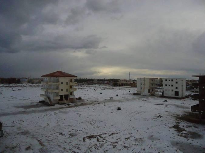 صور سقوط الثلوج في مصر 2015, تساقط الثلوج في مصر 2015