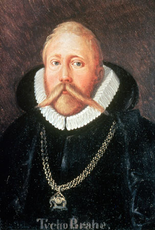 Photos Danish astronomer Tycho Brahe