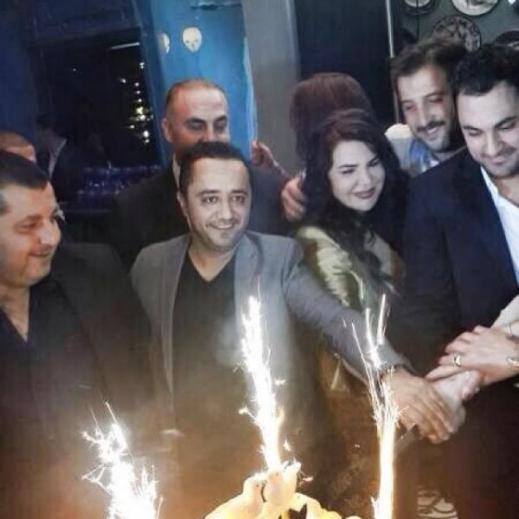 زواج الفنان السوري هادي أسود 2013 , حفل زفاف هادي أسود 2014