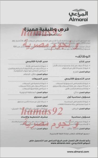 وظائف جريدة الرياض السعودية اليوم الاحد 15-12-2013