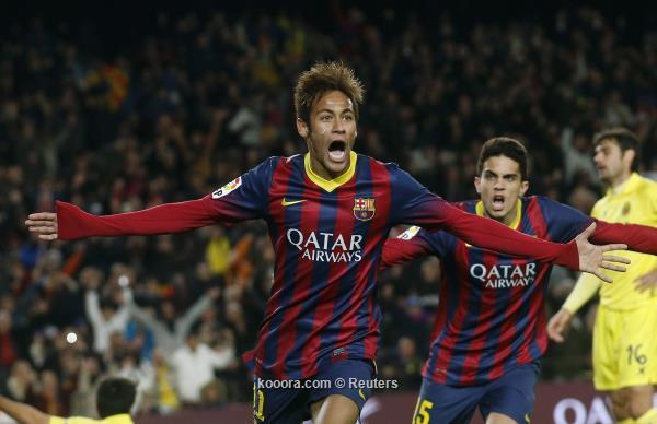 نتيجة و ملخص مباراة برشلونة و فياريال في الدوري الاسباني اليوم السبت 14-12-2013