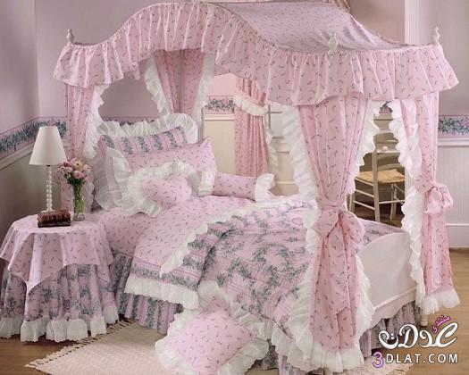 ديكورات غرف نوم اطفال بنات 2014 , دهانات وتصاميم غرف نوم اطفال بناتية 2014