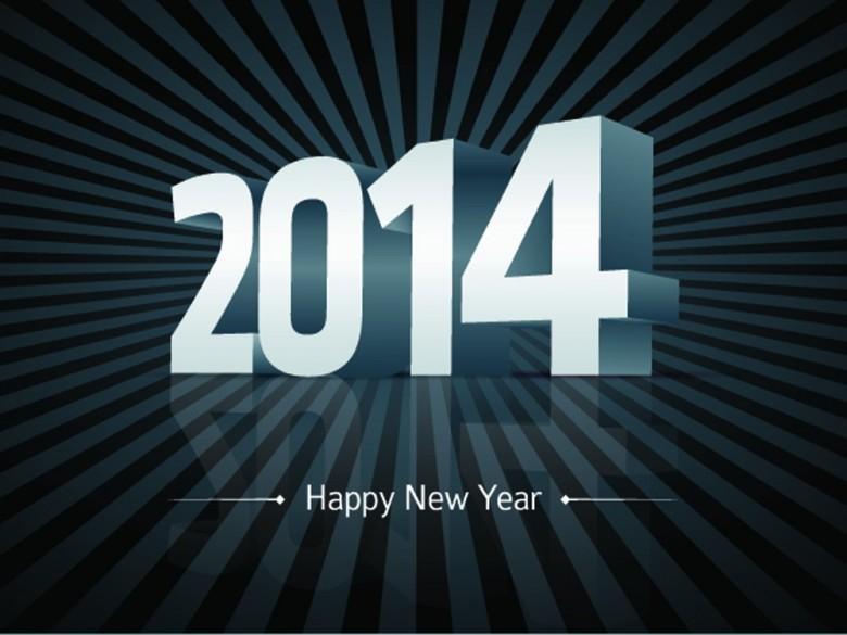 خلفيات رومانسية راس السنة 2014 , صور حب وغرام تهنئة بالسنة 2014