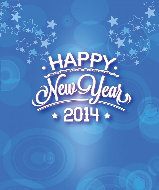 خلفيات hd راس السنة الميلادية 2014 , صور احتفالات بالعام الميلادي الجديد 2014