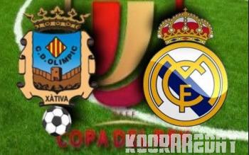 القنوات المجانية التي تذيع مباراة ريال مدريد وأولمبيك تشاتيفا كأس ملك اسبانيا الاربعاء 18-12-2013