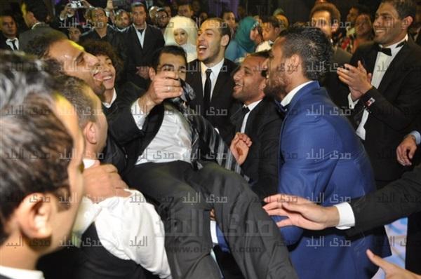صور فرح محمد صلاح وعروسته ماجي محمد 2014 , صور زواج لاعب محمد صلاح وماجي محمد 2014