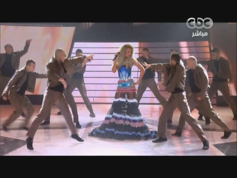 صور مايا دياب في اغنية ايوه - ستار اكاديمي 9- Star Academy الخميس 19-12-2013