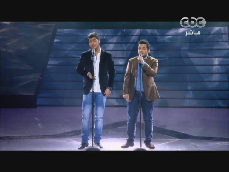 يوتيوب مدلي اغاني عمر دياب - محمود محي وجان شهيد - Star Academy الخميس 19-12-2013