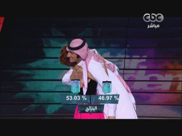 يوتيوب لحظة اعلان نتائج التصويت بين رنا و عبدالله - Star Academy اليوم الخميس 19-12-2013