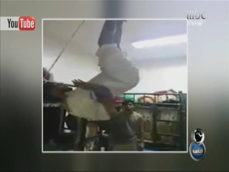 يوتيوب تعذيب عبده الحارتي في السجن 1435 , فيديو تعذيب عبده الحارتي في سجن 2013