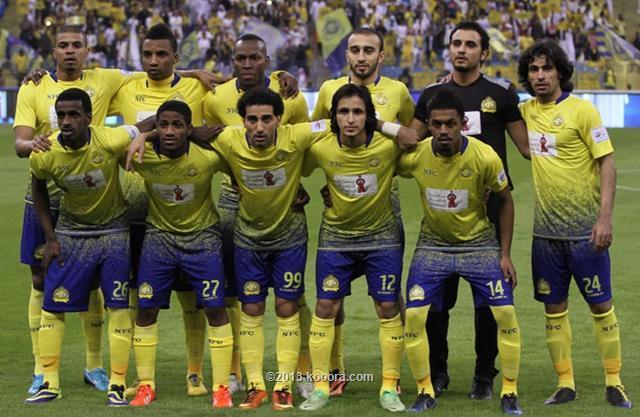 نتيجة مباراة النصر و نجران في الدوري السعودي اليوم الخميس 19-12-2013