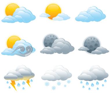 حالة الطقس و درجات الحرارة المتوقعة في مصر اليوم السبت 21-12-2013