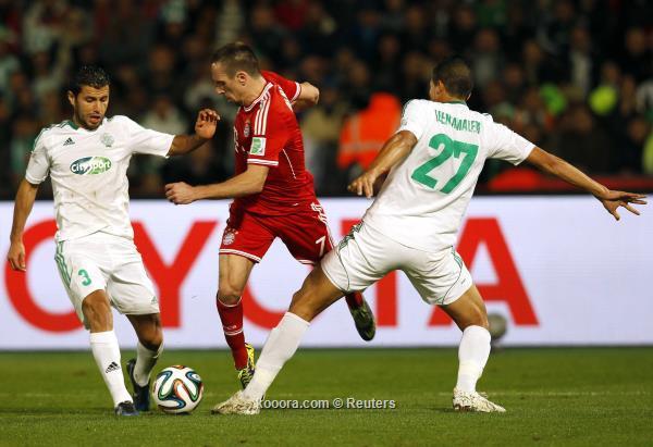 صور مباراة بايرن ميونيخ و الرجاء المغربي في نهائي كأس العالم للاندية اليوم السبت 21-12-2013
