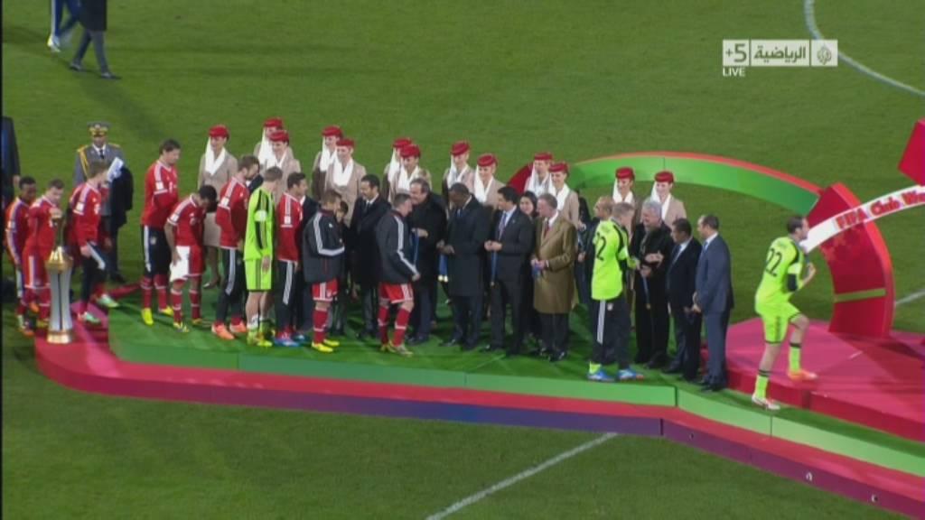 صور تتويج بايرين ميونخ بلقب كأس العالم للاندية 2013 في المغرب