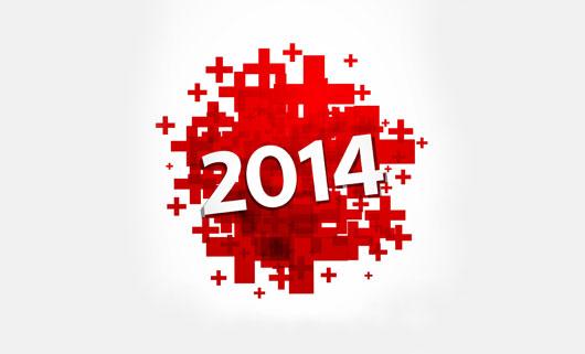 خلفيات انستقرام راس السنة الميلادية 2014 , صور انستقرام تهنئة براس السنة 2014 ,Instagram