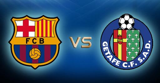 روابط ولينكات مشاهدة مباراة برشلونة وخيتافي في الدوري الإسباني اليوم 22-12-2013