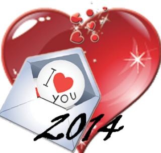مسجات بمناسبة حلول رأس السنة الميلادية 2014 , رسائل تهاني السنة الجديدة 2014