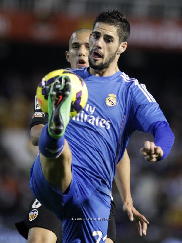 نتيجة مباراة ريال مدريد و فالنسيا في الدوري الاسباني اليوم الاحد 22-12-2013