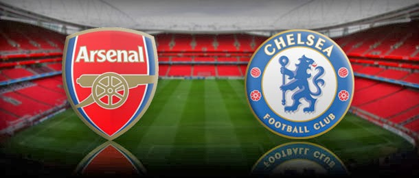 Date match Arsenal , Chelsea and ducts directly Today 12/23/2013 In the League Alanlgizy