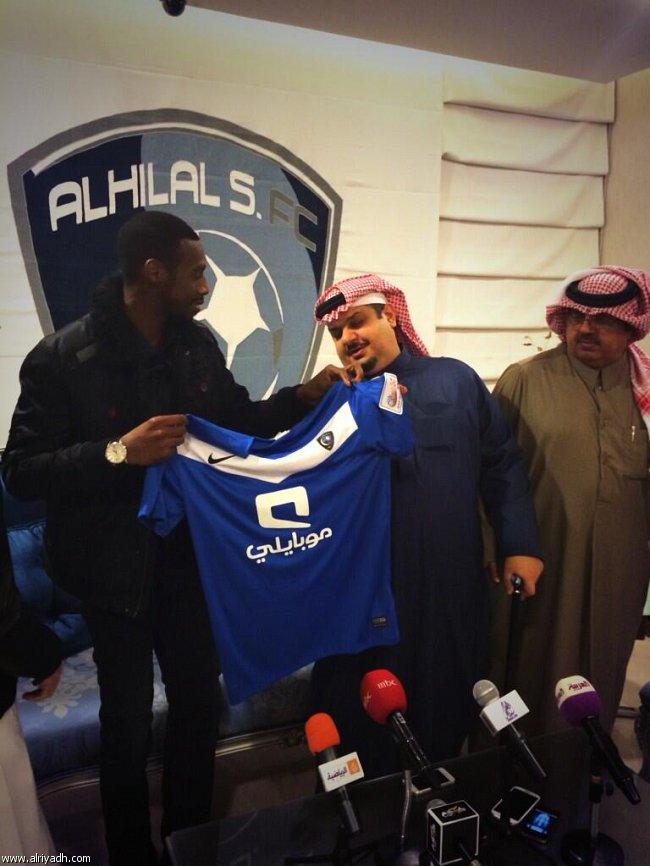 يوتيوب توقيع سعود كريري لنادي الهلال 1435 , صور توقيع نادي الهلال مع سعود كريري 2014