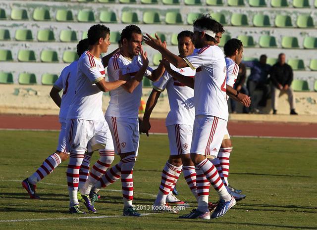 نتيجة مباراة الزمالك و نادي المصري في الدوري المصري اليوم الاربعاء 25-12-2013