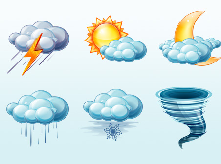 درجات الحرارة و حالة الطقس المتوقعة اليوم الجمعة في مصر 27-12-2013