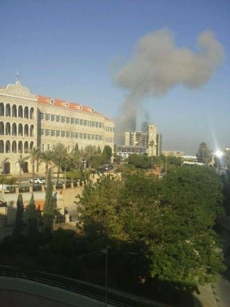 تفاصيل انفجار بيروت اليوم الجمعة 27-12-2013 , صور انفجار بيروت واغتيال محمد شح 27 ديسمبر 2013