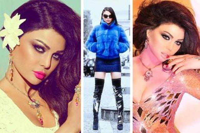 أجمل صور للفنانة اللبنانية هيفاء وهبي Haifa Wehbe