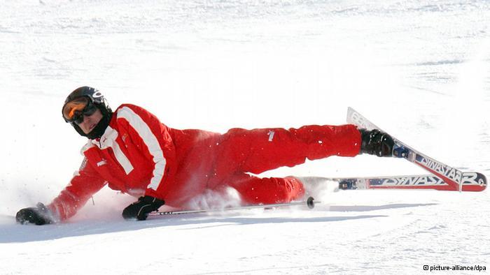 اخر اخبار حالة شوماخر بعد إصابته في حادث تزلج 2013