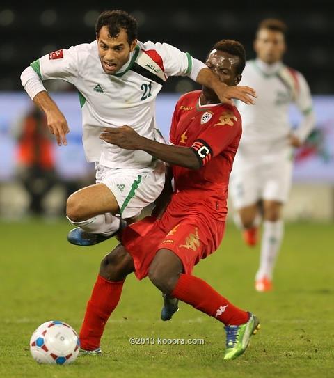 نتيجة مباراة العراق و عمان في بطولة كأس غرب اسيا اليوم الثلاثاء 31-12-2013