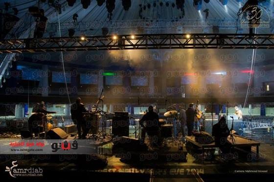 حفلة الفنان عمرو دياب في راس السنة 2014 , صور حفل عمرو دياب في رومانيا 2014