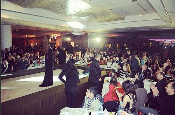 نانسي عجرم في حفلة راس السنة 2014 بالاردن , صور فستان نانسي عجرم في حفلة راس السنة 2014