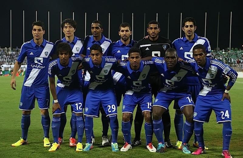 أهداف مباراة الهلال و الفيصلي في الدوري السعودي اليوم الخميس 2-1-2014