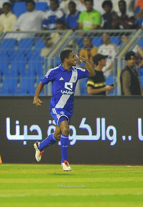 نتيجة مباراة الهلال و الفيصلي في الدوري السعودي اليوم الخميس 2-1-2014