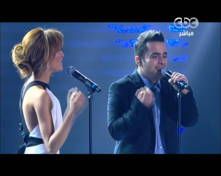 يوتيوب اغنية العام الجديد - محمود محي و زينب اسامة - ستار اكاديمي 9- Star Academy الخميس 2-1-2014