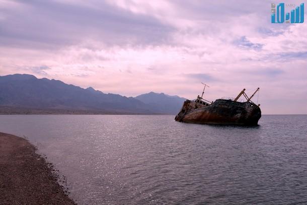 قصة باخرة جورجوس في ساحل محافظة حقل الجنوبي 1435 , صور الباخرة اليونانية جورجوس 2014