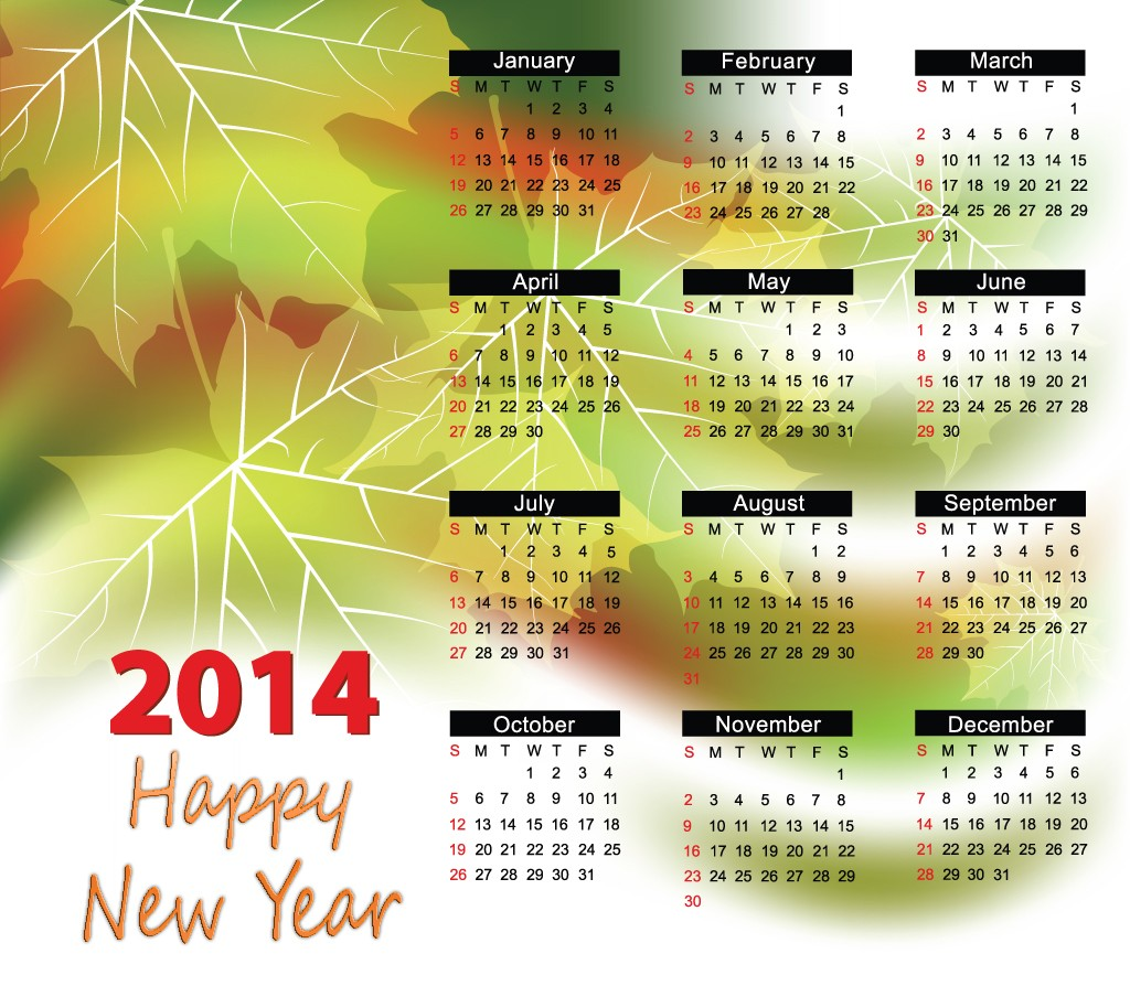 صور العام الجديد 2014 , اجمل تصميمات عام 2014 , Happy new year