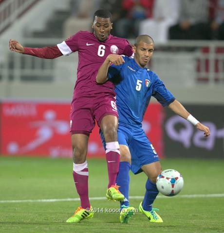 نتيجة مباراة قطر و الكويت في نصف نهائي كأس غرب اسيا اليوم السبت 4-1-2014