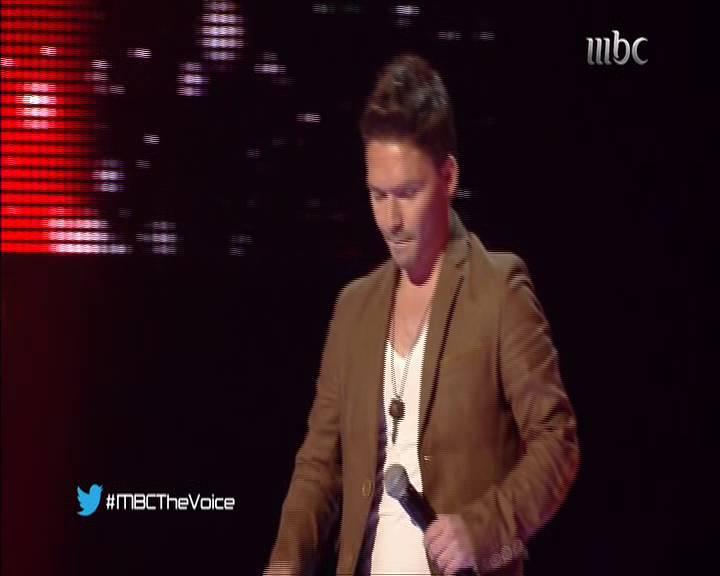 يوتيوب أداء سلام ناكوزي - اغنية اي دمعة حزن لا - برنامج ذا فويس - The Voice السبت 4-1-2014