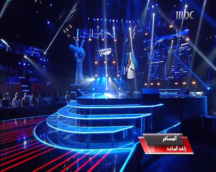 يوتيوب اغنية المسافر - محمد عبدالعزيز - برنامج ذا فويس - The Voice اليوم السبت 4-1-2014