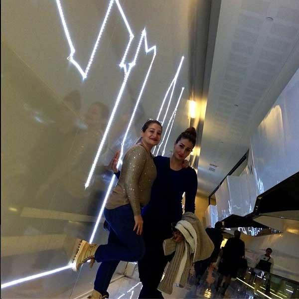 ديكورات منزل الفناة غادة عبد الرازق 2014 , منزل غادة عبد الرازق في دبي 2014