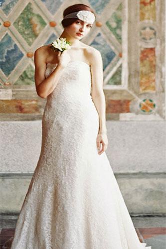 تصميمات فساتين عرايس موديلات 2014 , صور فساتين زفاف تصميم جديد 2014