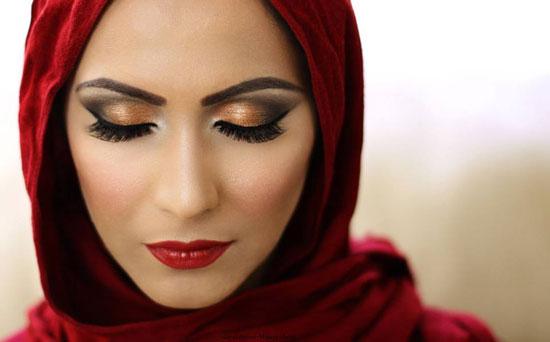 ماكياج أصحاب البشرة السمراء , أجمل ألوان ماكياج لصاحبات البشرة السمراء 2014