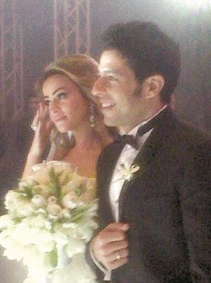 صور محمد حماقي و زوجته نهلة الحجرى