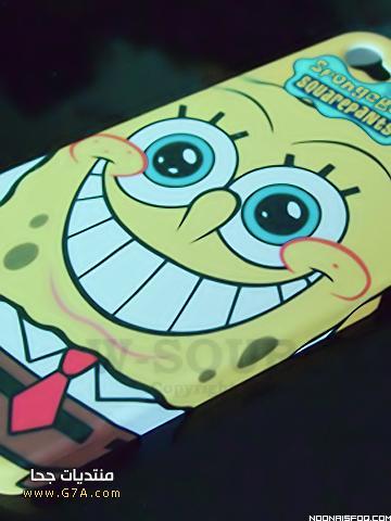 اروع خلفيات سبونج بوب للجالكسى جديدة 2014 , اجدد رمزيات تجنن للجالكسى حلوى 2015