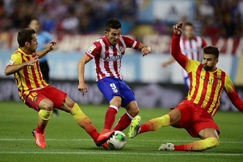 Match FC Barcelona v Atletico de Madrid 11-1-2014 Saturday