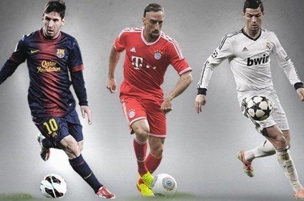 تسليم جائزة افضل لاعب 2014 للاعب نجم ريال مدريد والنجم البرتغالي كريستيانو رونالدو 2014