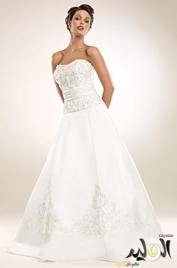 dc01be57ebb35 صور فساتين افراح زفاف للعروسة جديدة