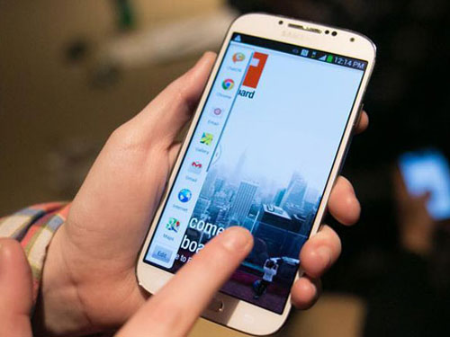 Samsung Galaxy S5 to launch in April